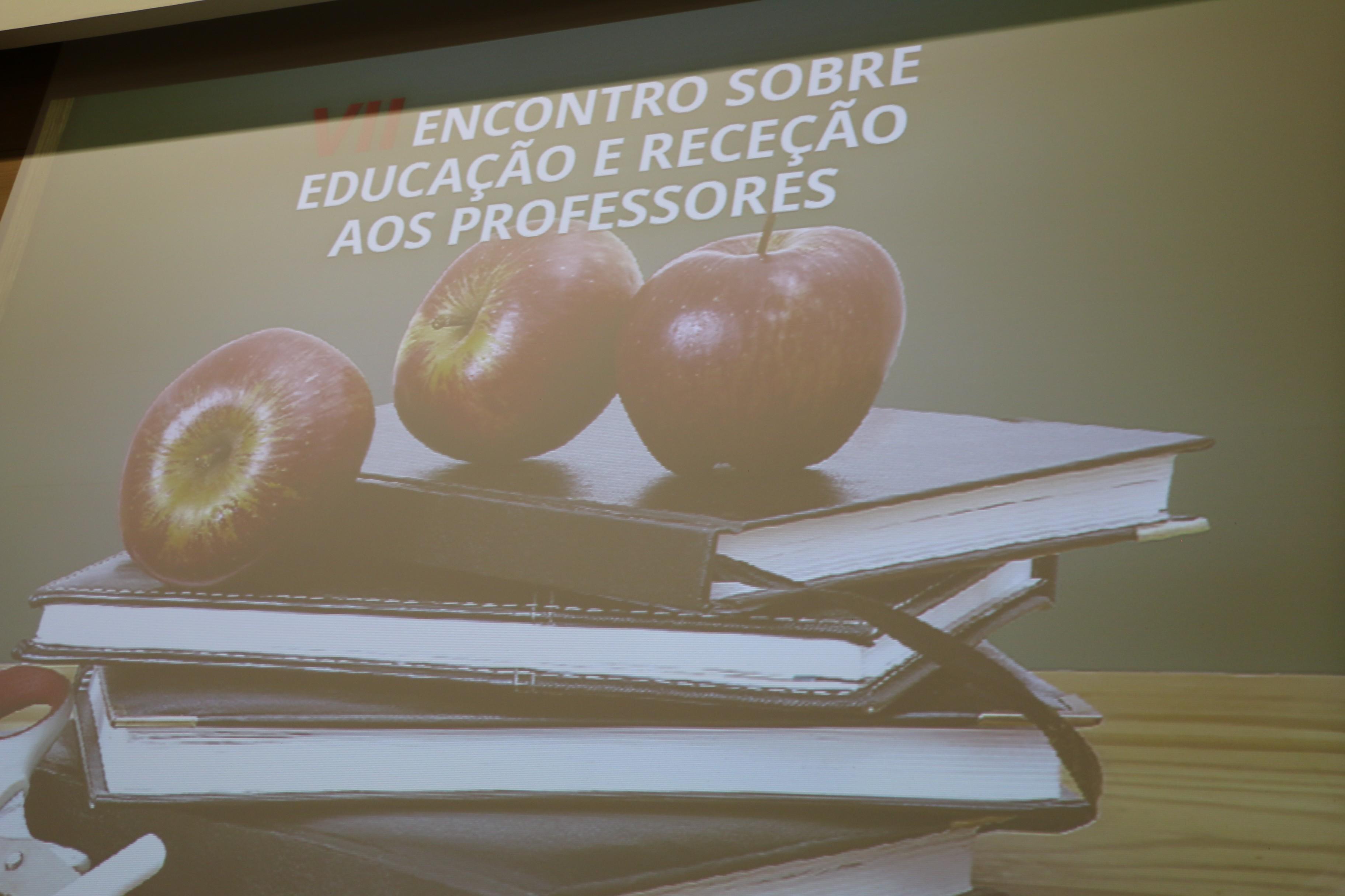 receção professores